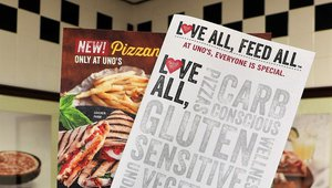 New Uno Pizzeria menu offers 65+ items for 6 different diets
