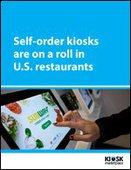 Self-order kiosks are on a roll in U.S. restaurants
