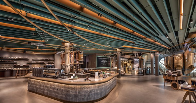 Starbucks Unveils Epic 35000-Square-Foot Reserve Roastery in Chicago