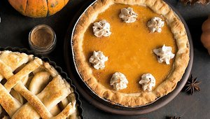 Pumpkin 'squashes' apple for seasonal dessert of choice