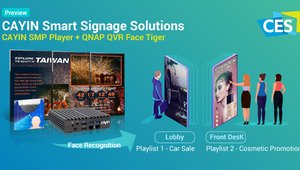 CAYIN, QNAP to demonstrate smart signage prototype