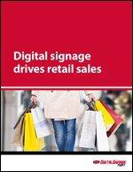 Digital signage drives retail sales