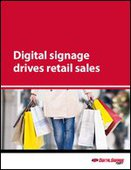 Digital signage drives retail sales