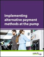 Implementing alternative payment methods at the pump