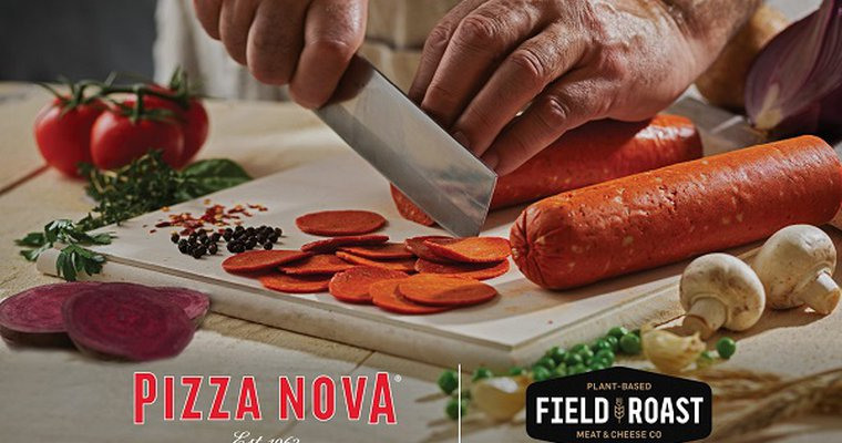 Canada's Pizza Nova puts plant-based pepperoni pies on permanent menu