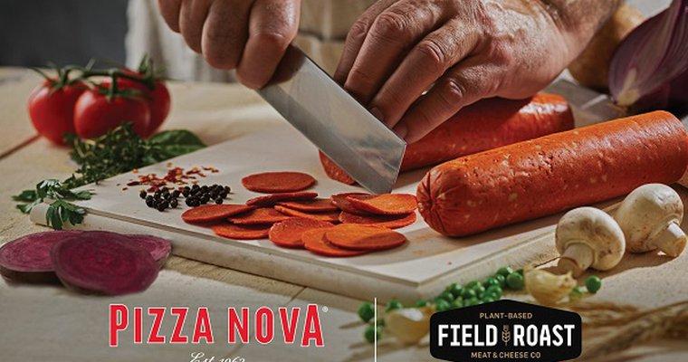 Canada's Pizza Nova puts plant-based pepperoni pies on permanent menu