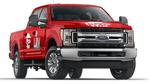 Pizza Hut uses branded trucks to deliver 30,000 slices during Super Bowl