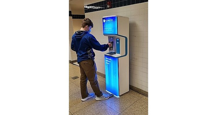Flowater installs touchless, self-sanitizing water stations to prevent COVID-19 in schools nationwide