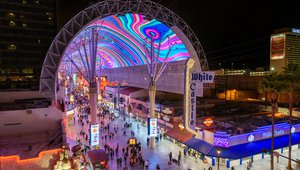 Watchfire Signs completes signage renovation for Las Vegas Fremont Street Experience
