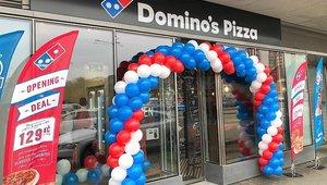 Domino's 1st Czech Republic store open