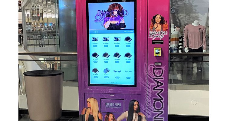 Hair care vending machine