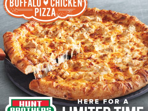 Buffalo Chicken pizza returns to convenience stores