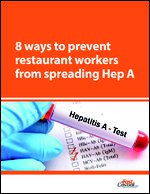 8 ways to prevent restaurant workers from spreading Hep A