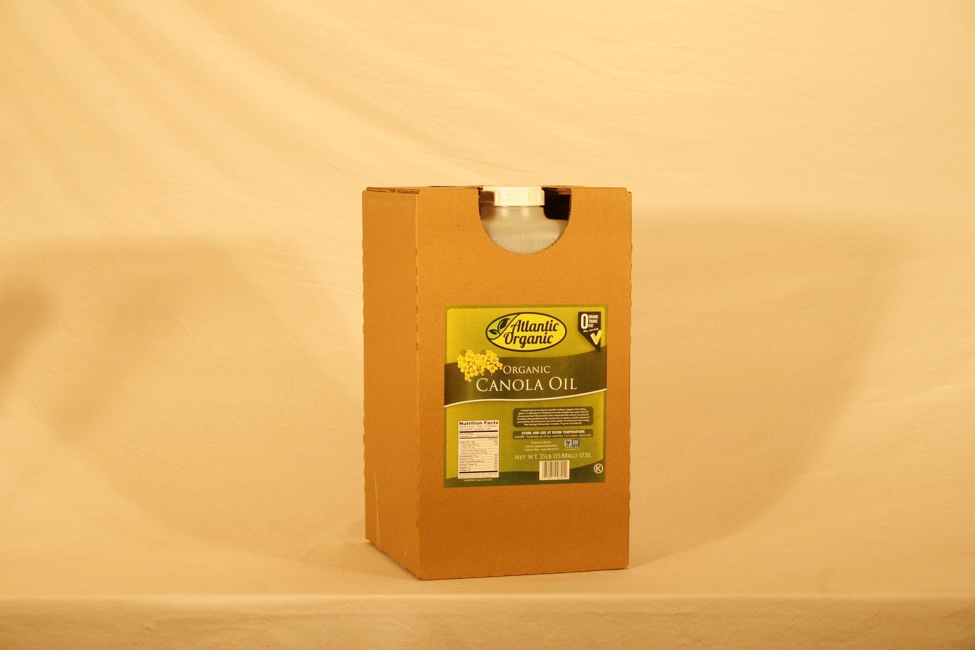 35 lb. JIB Organic Canola Oil / Catania Oils
