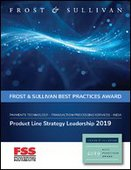 Frost and Sullivan honored FSS with the India Best Practices Award, 2019.