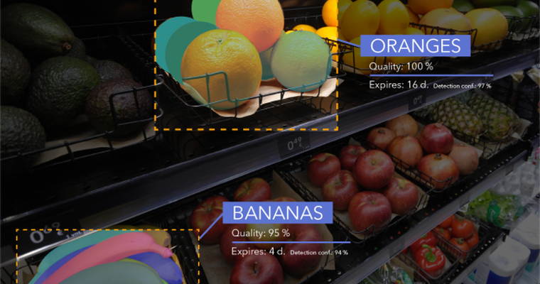 EU startup debuts produce recognition software to smart stores