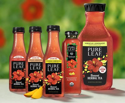 Pure Leaf Rolls Out New Herbal Iced Teas
