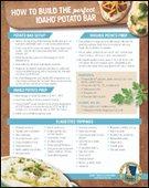 How to Build the Perfect Idaho® Potato Bar