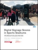 Digital Signage Scores in Sports Stadiums