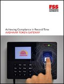 Achieving Compliance in Record Time - AADHAAR TOKEN GATEWAY