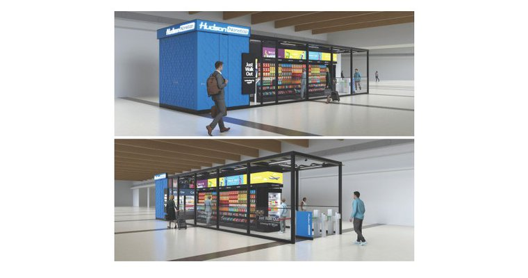 Hudson to install Amazon self-checkout technology at Dallas airport