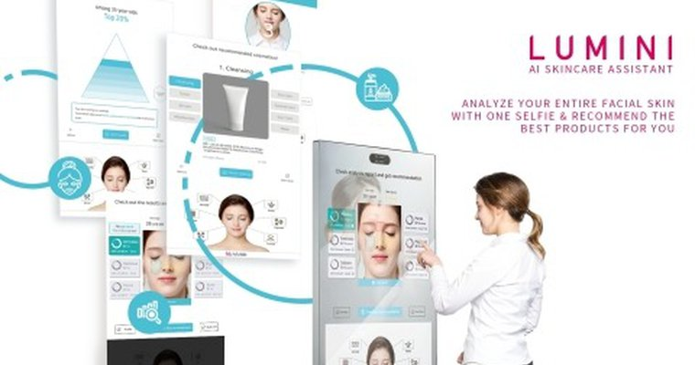 Skin care startup offers AI-enabled skin care kiosk