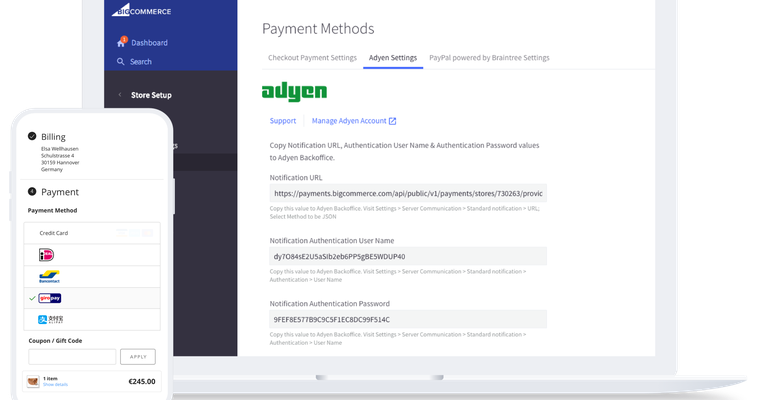 BigCommerce launches global integration with Adyen