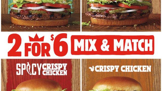 Burger King does plant-based value