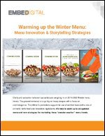 Warming up the Winter Menu: Menu Innovation & Storytelling Strategies