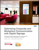 Optimizing Corporate and Workplace Communication with Digital Signage