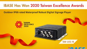 IBASE's digital signage player wins 2020 Taiwan Excellence Award