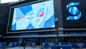 LG delivers direct view LED display for Toronto Maple Leaf Square