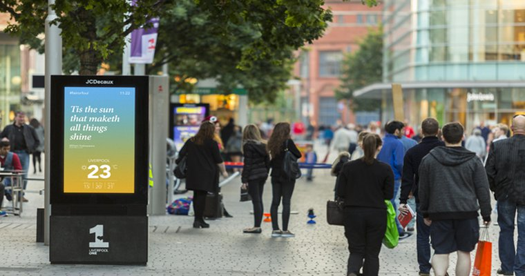 JCDecaux's Dynamic launches SmartCONTENT, celebrates Shakespeare