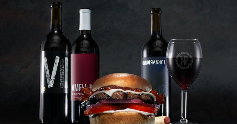 Carl's Jr uses wine pairing to launch steak-burger