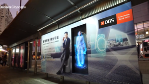 Hong Kong's DBS promotes wealth management app with celebrity hologram