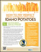 How to Fry Perfect Fresh-Cut French Fries Using Idaho® Potatoes