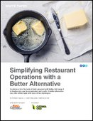 Simplifying Restaurant Operations with a Butter Alternative