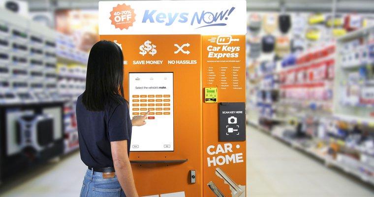 Car Keys Express introduces car key vending machine